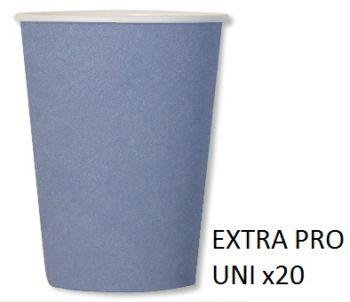 20 Bicchieri compostabili carta da zucchero 250 cc