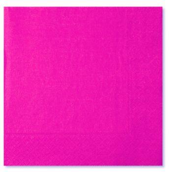 20 Tovaglioli rosa 33 x 33 cm