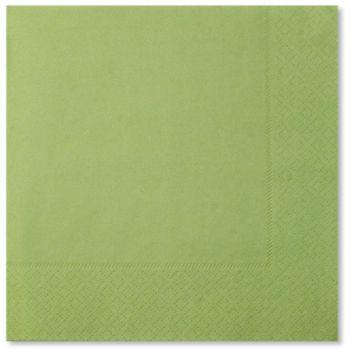 20 Tovaglioli verdino 33 x 33 cm