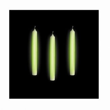 10 Candeline glow 8 cm