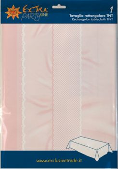 Tovaglia tnt 140 x 240 nascita rosa