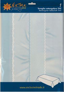 Tovaglia tnt 140 x 240 nascita azzurro