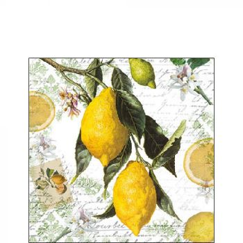 Tovaglioli Ambiente 25 x 25 Lemon