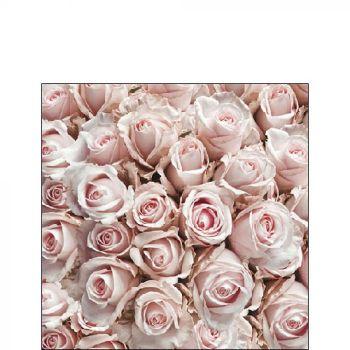 Tovaglioli Ambiente 25 x 25 Pastel rose