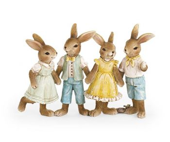 Gruppo 4 coniglietti