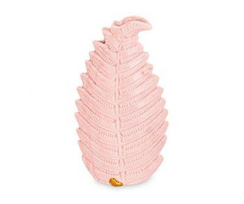Vaso a forma foglia rosa 100 x 180 mm