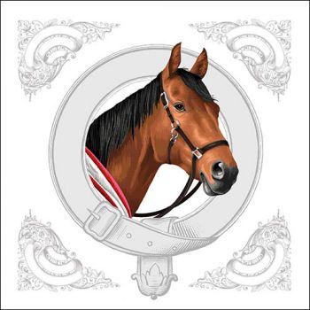 Tovaglioli Ambiente 33 x 33 Classic horse