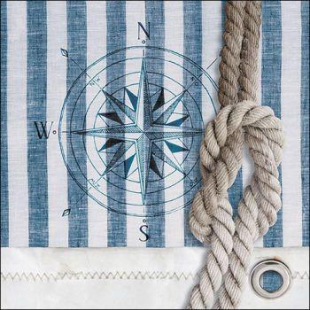 Tovaglioli Ambiente 33 x 33 Compass and rope