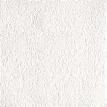 Tovaglioli Ambiente 33 x 33 Elegance white