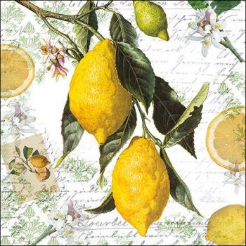 Tovaglioli Ambiente 33 x 33 Lemon