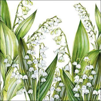 Tovaglioli Ambiente 33 x 33 Sweet lily