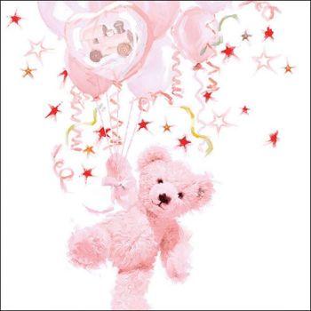 Tovaglioli Ambiente 33 x 33 Teddy rose