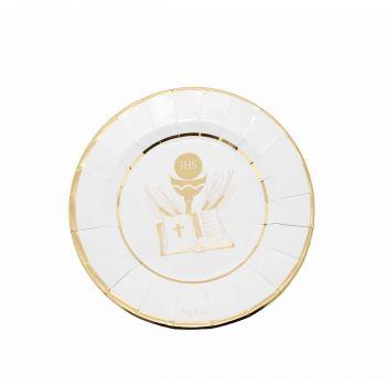 Prima Comunione Gold Piccolo 21 cm -  8 pz