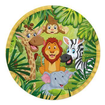 Piatti Grandi Jungle Giungla