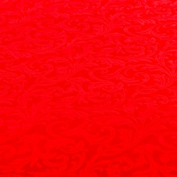 Tovaglia tessuto damascato floccato cm 140 x 240 rosso