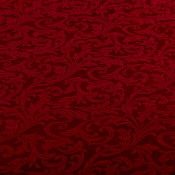 Tovaglia tessuto damascato floccato cm 140 x 240 bordo