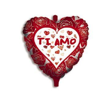 Pallone foil TI AMO 45 cm