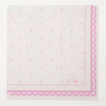 Tovaglioli petit rosa 33 X 33 cm 16 pezzi
