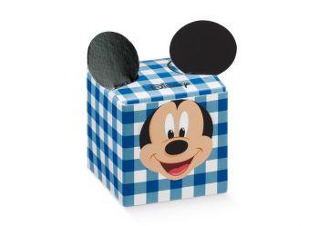 Scatola cubo Mickey Party Blu