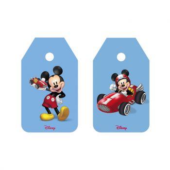Targhette due soggetti assortiti Mickey Go
