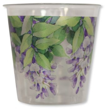 8 Bicchieri Kristal glicini wisteria 300 cc
