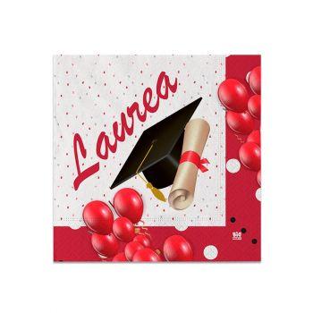 Tovaglioli Piccoli Laurea Prestige 25 x 25 cm 20 pz