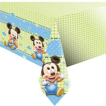 Tovaglia in plastica Baby Mickey 120 x 180 cm