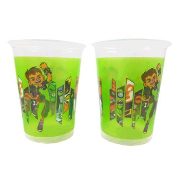 10 Bicchieri in plastica Ben Ten 200 ml