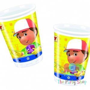 Bicchieri Handy Manny 200 cc - 10 pz