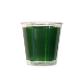 10 Bicchieri in plastica Kristal in tinta unita Verdi 300 cc
