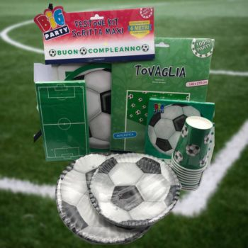 Kit  Tema a Festa Calcio
