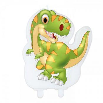 Candelina per torta Dinosauro 1 pz