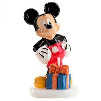 Candela Sagomata Mickey Mouse Topolino 1 pz