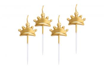 Candeline corona oro