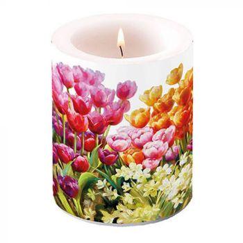 Candela decorativa big Tulips 12 cm