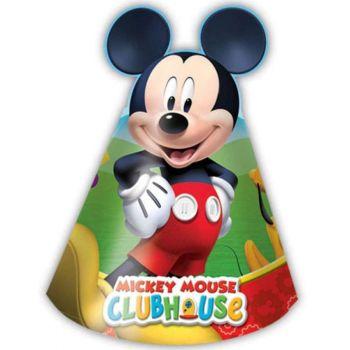 Cappellini Mickey Mouse Topolino 6 pz