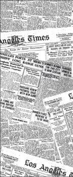 """Carta antigrasso """"vintage"""" giornale per fritti 15 x 40 500 pz"""