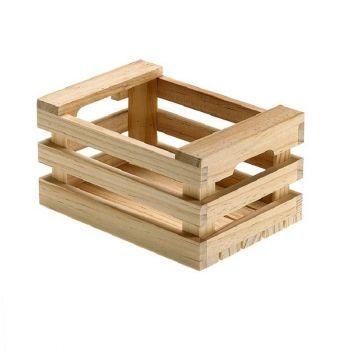 Cassetta in legno fruit box 25 x 17 x 10 cm