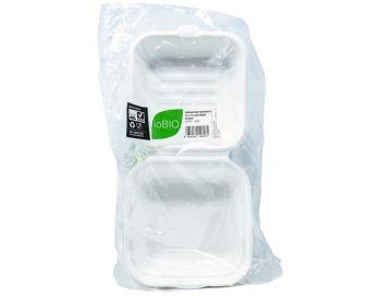 Contenitore bio per hamburger 15 x 16 x 4 cm 350 ml 50 pezzi