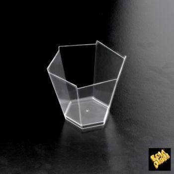 Coppetta in plastica gardenia 100 cc 25 pezzi