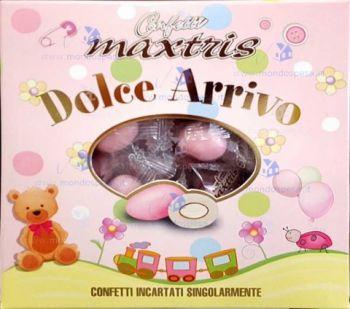 Confetti Maxtris Dolce Arrivo Rosa 500 gr senza glutine