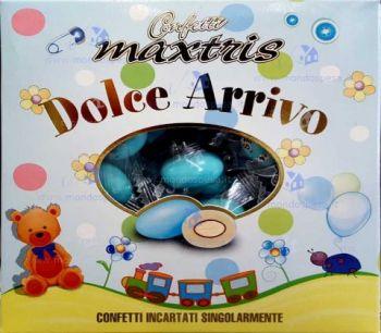 Confetti Maxtris Dolce Arrivo Celeste 500 gr senza glutine