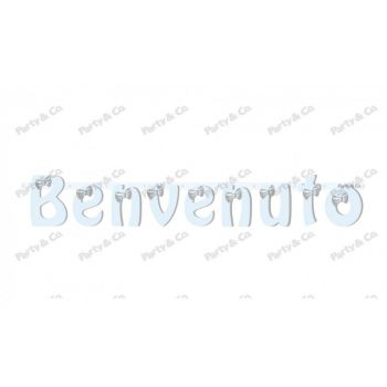 Festone Benvenuto Silver Boy 140 cm