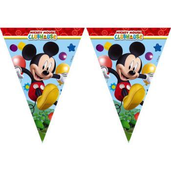 Festone a Bandierina Mickey Mouse Topolino 230 cm - 1 pz