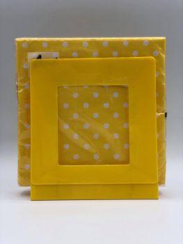 Portatovaglioli Smart  Giallo 33 x 33 cm in plastica rigida