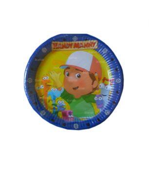 PIatto Piccolo Handy Manny 18 cm - 10 pz