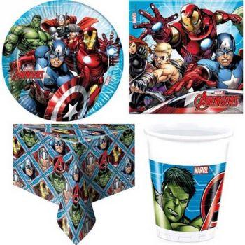 Kit Festa A Tema Avengers