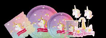 Kit Festa A Tema Unicorno