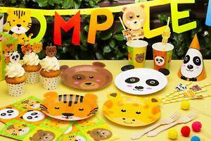 Kit Festa A Tema Zoo Party