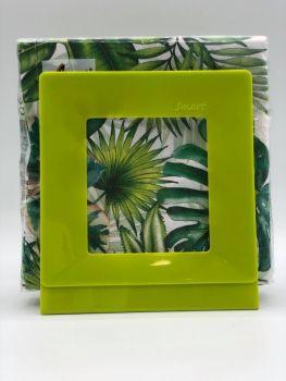 Portatovaglioli Smart Verde Kiwi  33 x 33 cm in plastica rigida